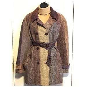 Jessica Lee Collection Vintage Wool Coat